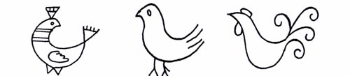 Різновиди птахів